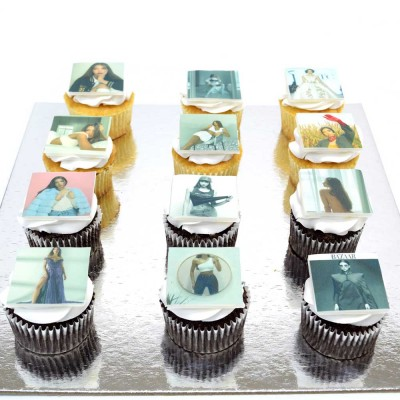 Cupcakes with photo 4