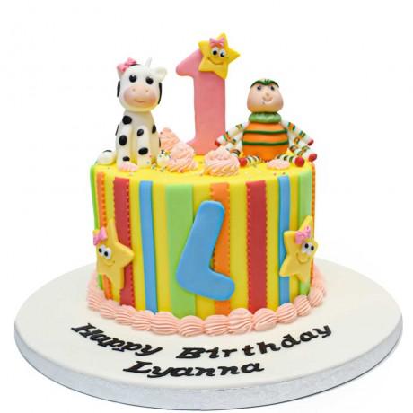 nursery rhymes cake 1 6