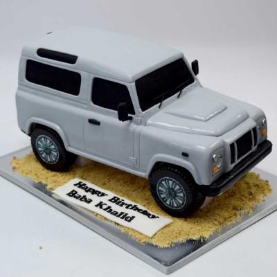 Toyota Land Cruiser Jeep Cake