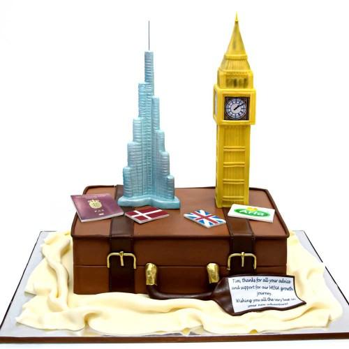 big ben and burj khalifa cake 2 7