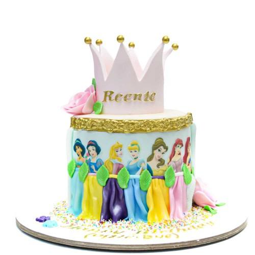disney princesses cake 26 7