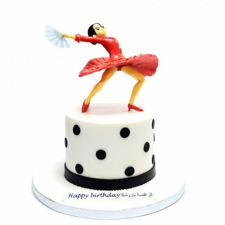 flamenco dancer cake 6