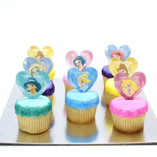 disney princesses cupcakes 1 7