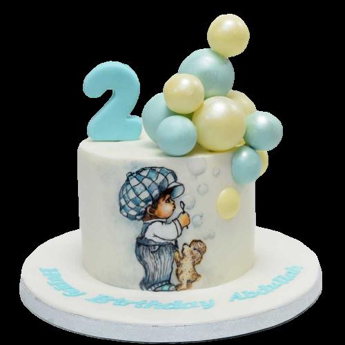 baby boy cake 7 8