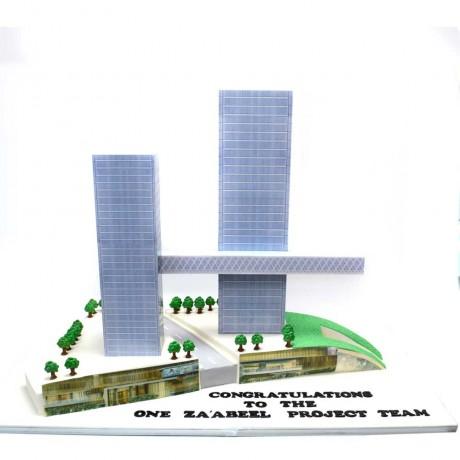za'abeel building project cake 12