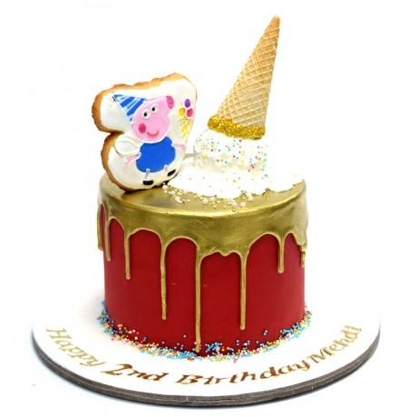 peppa pig cake 9 6