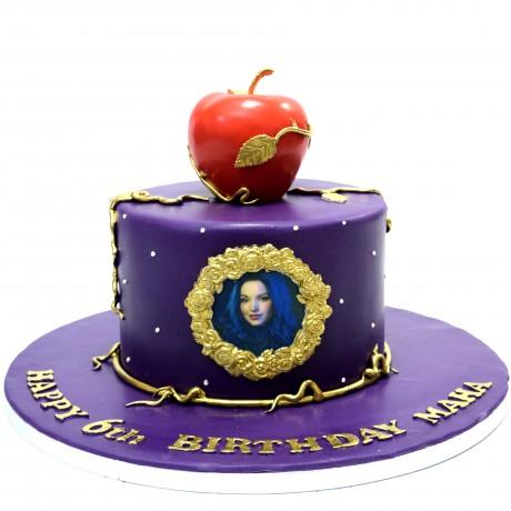 descendants cake 6