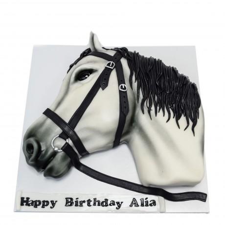 horse head cake 12