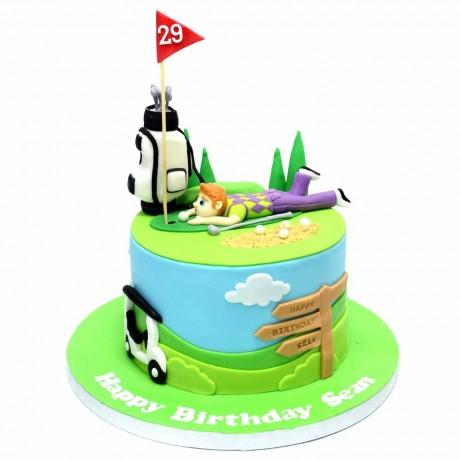 golf cake 3 7