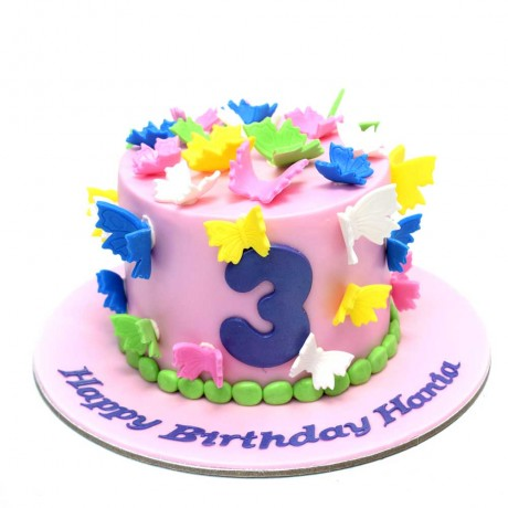 cake with butterflies 5 12