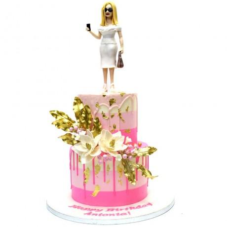 elegant lady cake 2 6