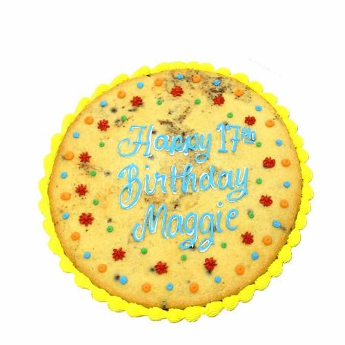 big happy birthday cookie 7