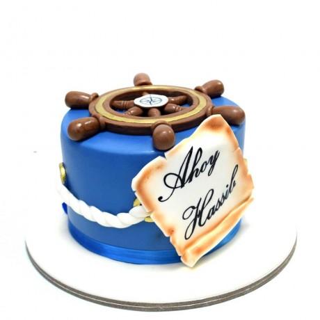 nautical marine theme cake 1 12