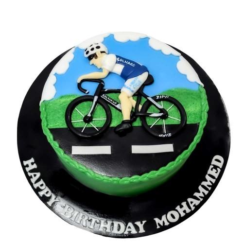 cycling bicycle cake 3 7