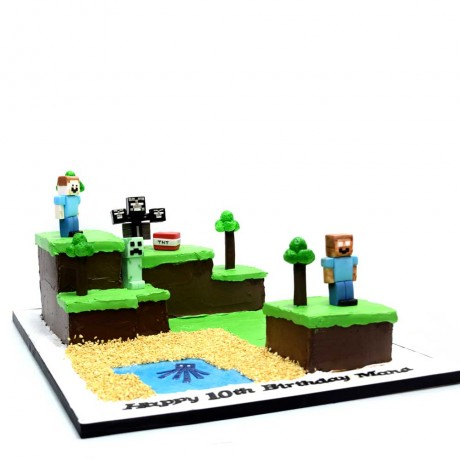 minecraft cake 20 7