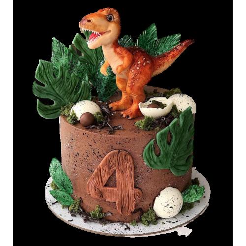 dinosaur cake 6 7