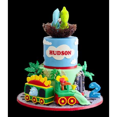 dinosaur train cake 6