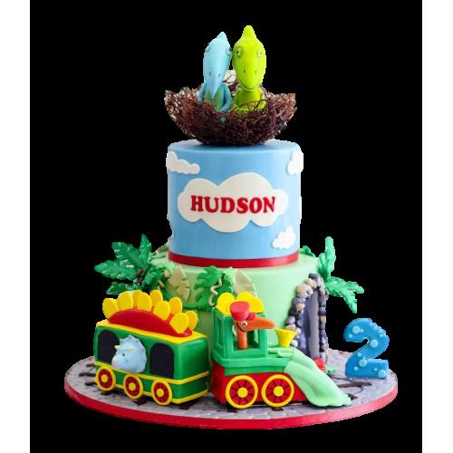 dinosaur train cake 7