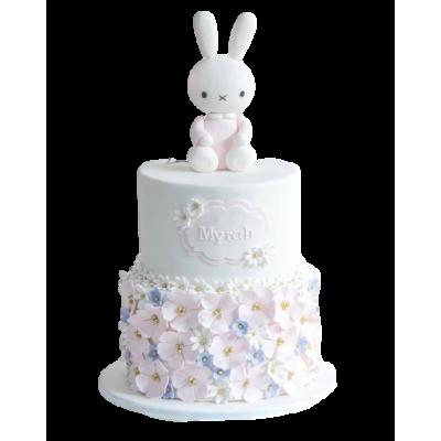 Cute bunny cake 2