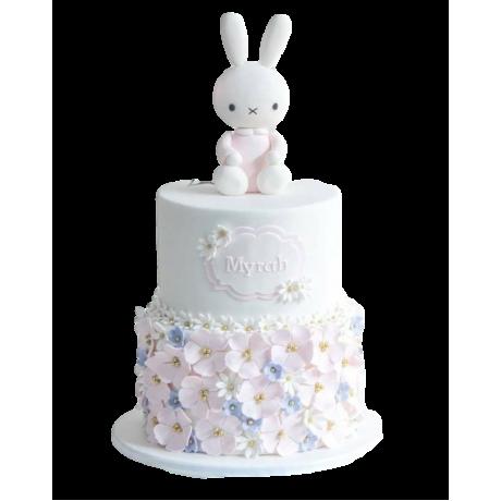 cute bunny cake 2 6