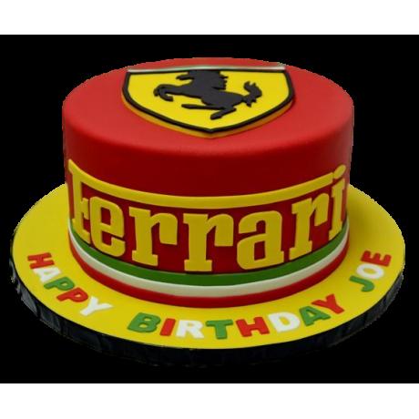 ferrari cake 12 12