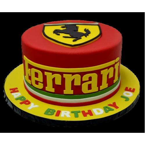 ferrari cake 12 13