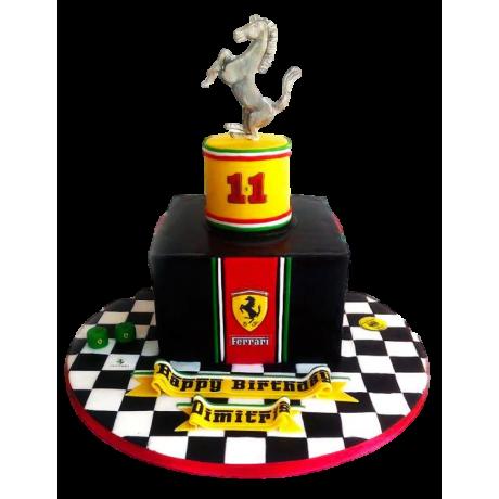 ferrari cake 8 6