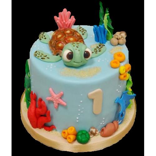 first birthday cake nemo 7