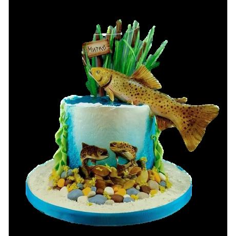 fishing cake 2 6