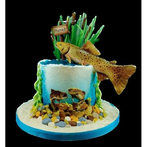 fishing cake 2 7