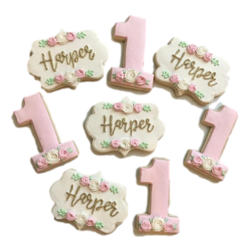 first birthday cookies 7