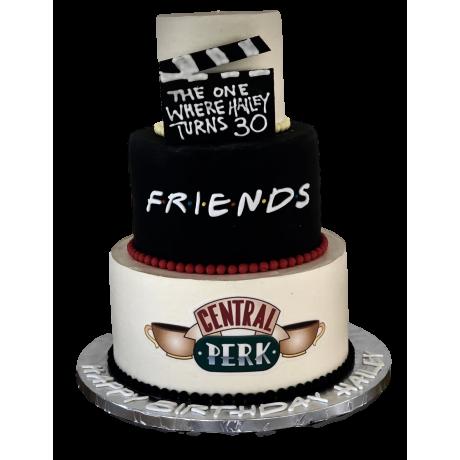 friends cake 12