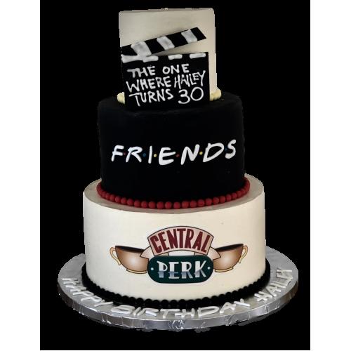 friends cake 13