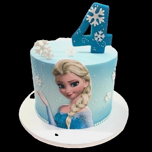 elsa cake 1 7