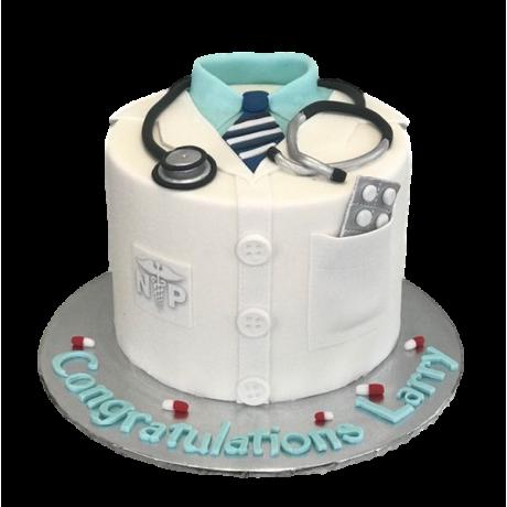 doctor's graduation cake 2 6