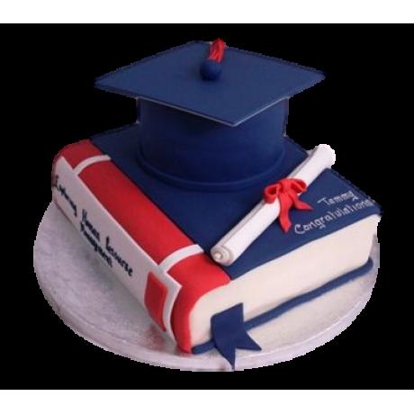 graduation cake 42 12