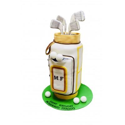 Golf Bag Cake 3