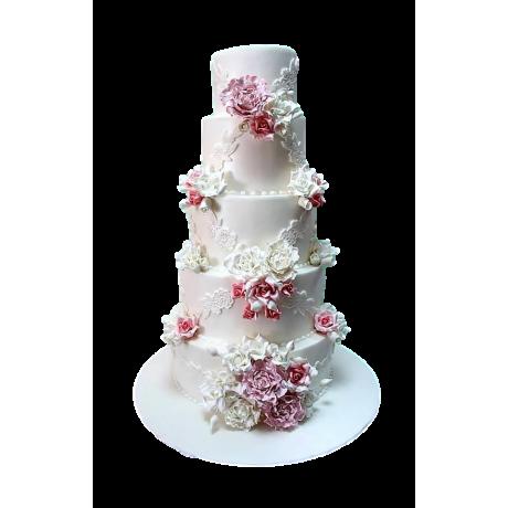 amazing flowers cake 3 6