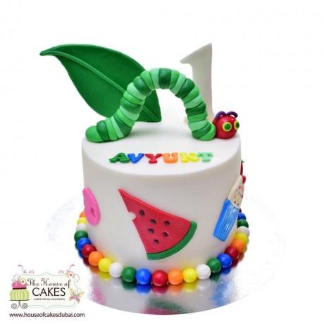 caterpillar cake 2 6