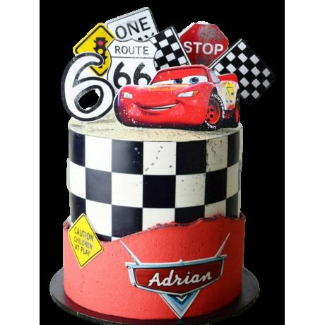 disney cars mcqueen cake 5 6