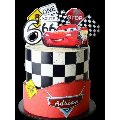 disney cars mcqueen cake 5 7