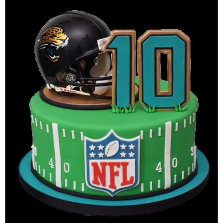 american football nfl cake 6