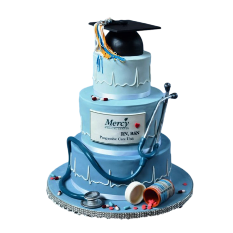 doctor's graduation cake 6