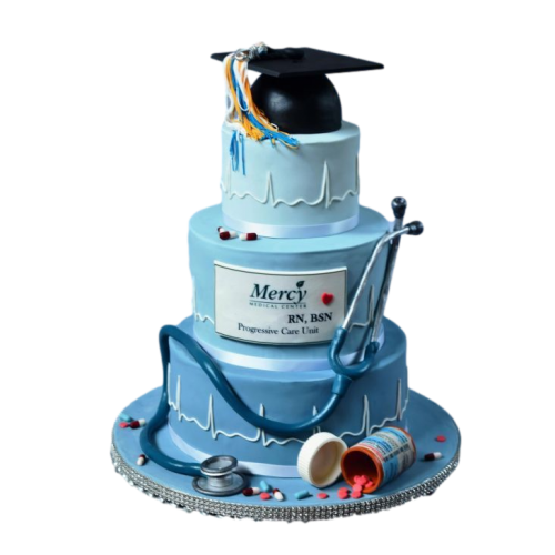 doctor's graduation cake 7