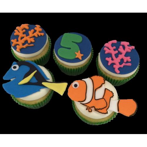 cupcakes nemo 3 7
