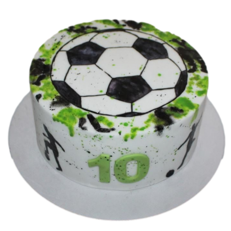 football cake 12 12