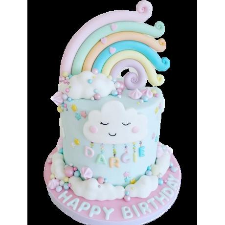 rainbow cake 1 6