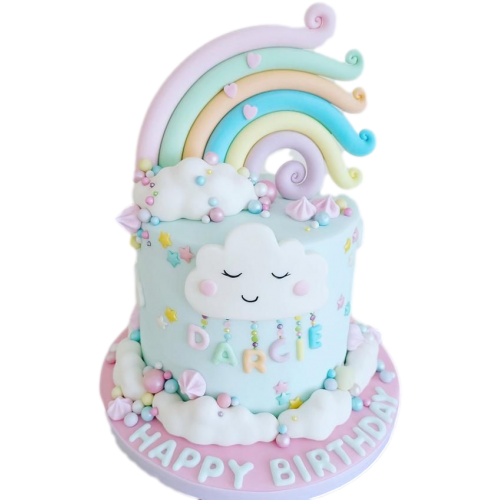 rainbow cake 1 7