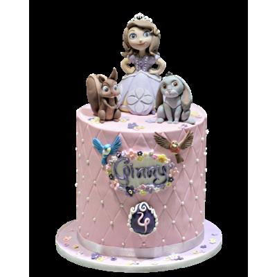 Princess Sofia cake 9