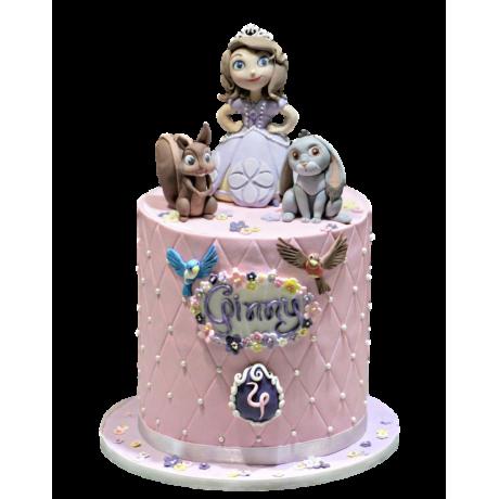 princess sofia cake 9 6
